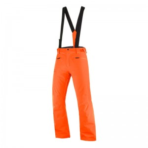 Spodnie Salomon Stance Red Orange