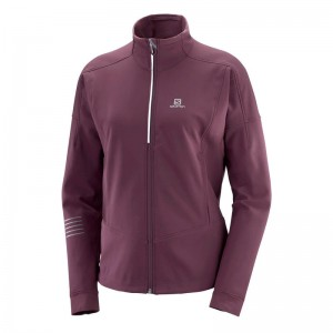 Kurtka Salomon Lightning Warm Softshell W Winetasting
