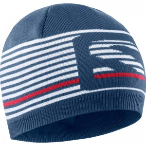 Czapka Salomon FLATSPIN Short Beanie Dark Denim