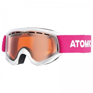 Gogle Atomic Savor Junior White/Orang
