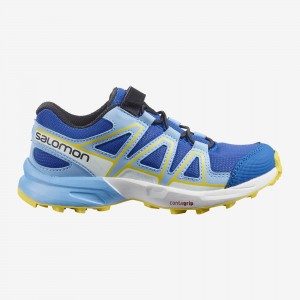 Buty Salomon Speedcross Bungee K Turkish Sea/ Little Boy Blue/ Lemon Zest