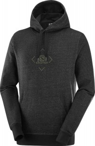 Bluza Salomon Shift Hoodie Black/ Olive Night