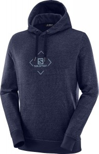 Bluza Salomon Shift Hoodie Night Sky/ Tanager Turkqouise