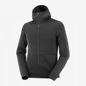 Bluza Salomon Essential Warm Black/ Heather