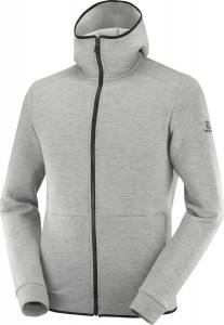 Bluza Salomon Essential Warm Medium Grey/ Heather