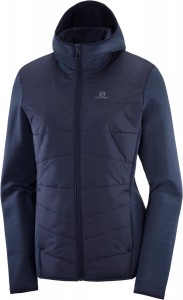 Bluza Salomon Radiant Hybrid Hoodie W Night Sky