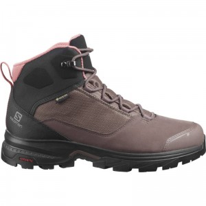 Buty Salomon Outward Gore-tex W Peppercorn / Black
