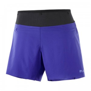 Spodenki Salomon S/LAB Sense 6 Short W Clematis Blue