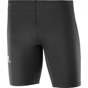 Spodenki Salomon Agile Tight Black