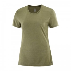 Koszulka Salomon Comet Short Sleeve W Martini Olive