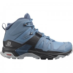 Buty Salomon X Ultra 4 Mid GORE-TEX W Copen Blue/Black/Dark Denim
