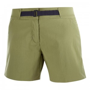 Spodenki Salomon OUTRACK Shorts W Martini Olive
