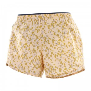 Spodenki Salomon Agile Short W Almond Cream / AO