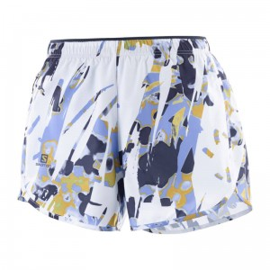 Spodenki Salomon Agile Short W White/AO