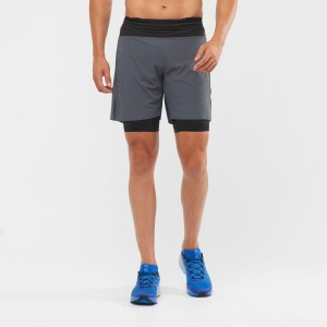 Spodenki Salomon Exo Motion TW Short M Ebony/ Black