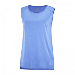 Koszulka Salomon Outline Summer Tank W Marina