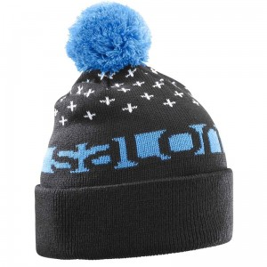 Czapka Salomon Free Beanie Black/Hawaiian