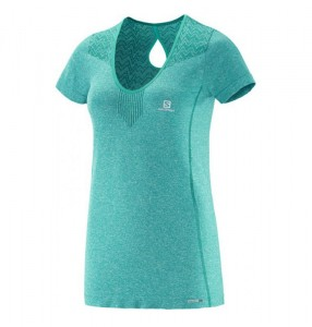 Koszulka Salomon Elevate Seamless Tee W T. Blue
