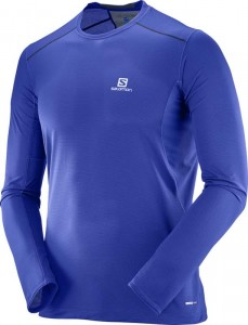 Koszulka Salomon Trail Runner LS Surf the Web