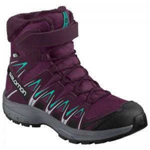 Buty Salomon XA PRO 3D Winter TS CSWP JR Dark Purple
