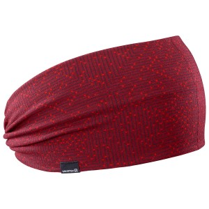 Opaska Salomon Light Headband Biking Red