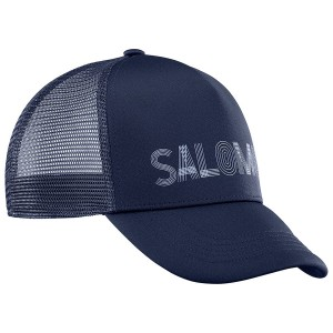 Czapka Salomon Summer Logo Cap Night Sky