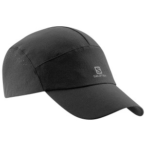 Czapka Salomon Softshell Cap Flint Stone Black