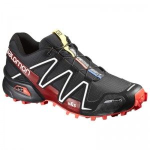 Buty Salomon Spikecross 3 CS Black/Red