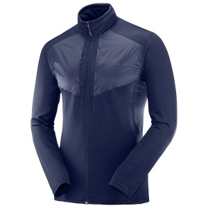 Bluza Salomon Grid FZ Mid Night Sky