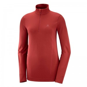 Bluza Salomon Comet Seamless HZ W Red Dahlia