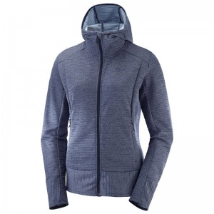 Bluza Salomon Right Nice Mid Hoodie W Night Sky