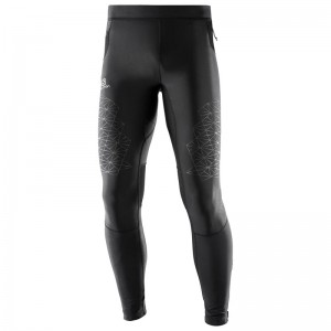 Getry Salomon Fast Wing Long Tight Black