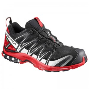 Buty Salomon XA PRO 3D GTX Black/Barbados Cherry
