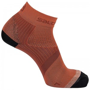 Skarpety Salomon Sense Support Biking Red/Fiery red