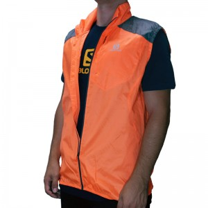 Kamizelka Salomon Fast Wing Vest Orange