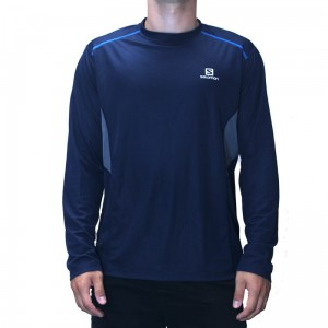 Koszulka Salomon Trail Runner LS Tee Big Blue-X