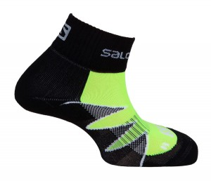 Skarpety Salomon Citytrail Black/Green