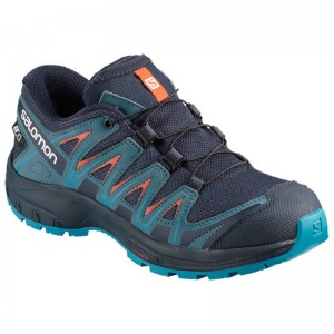 Buty Salomon XA Pro 3D CSWP Junior Navy Blaze