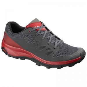 Buty Salomon Outline Ebony/Red Dahlia