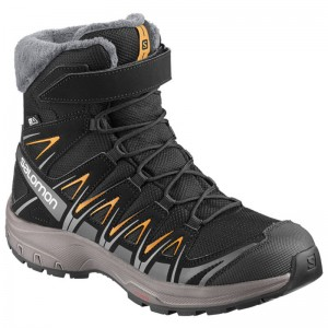 Buty Salomon XA PRO 3D Winter TS CSWP JR Black/Magnet