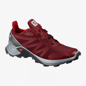 Buty Salomon Supercross Red Dahlia
