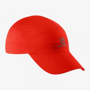 Czapka Salomon Waterproof Fiery Red