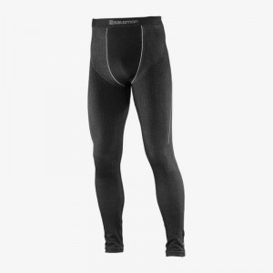 Spodnie Salomon Primo Warm Tight Black