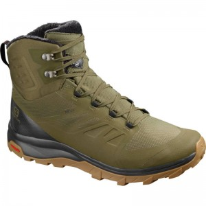 Buty Salomon Outblast TS CSWP Burnt Olive
