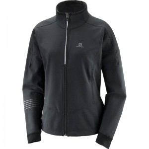 Kurtka Salomon Lightning Warm Softshell Black