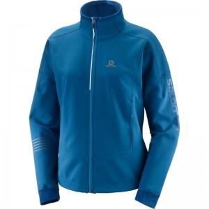 Kurtka Salomon Lightning Warm Softshell Poseidon