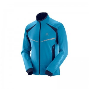 Kurtka Salomon RS Warm Softshell Fjord Blue