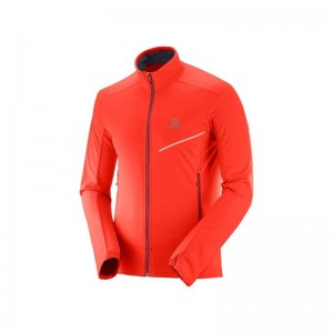 Kurtka Salomon RS Softshell Fiery Red