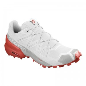 Buty Salomon Speedcross 5 White/Cherry