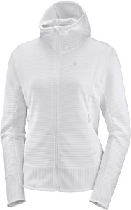 Bluza Salomon Right Nice Mid Hoodie W White